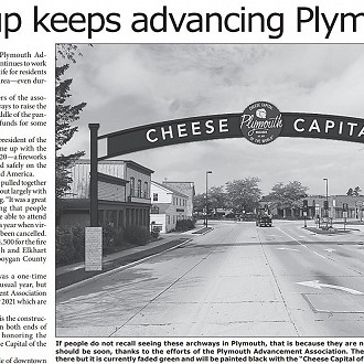 Article in Depot Dispatch Page 1