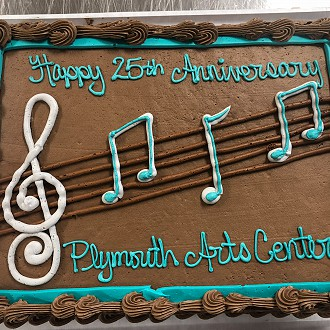 Anniversary Cake Celebrating our 25th Anniversary, 2018