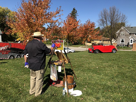 Call to Artists for Paint the Towns in Fall Color