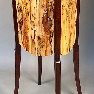 Richard Bronk, One of kind wood creations furniture and sculptures,  #5 Chrysalis-Bronk Art Studios N7202 Highview Rd., Plymouth, WI