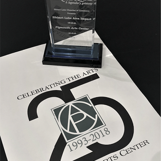 Plymouth Arts Center won the Impact Award from the Elkhart Lake Chamber of Commerce